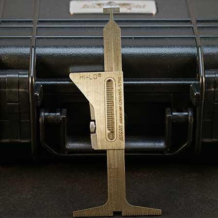 HI-LO Welding Gauge Front